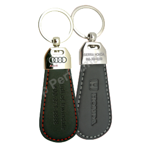 Custom Leather Key Fobs